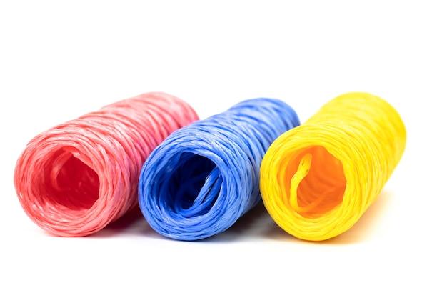 Hanks de ficelle colorée