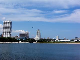 Harborfront milwaukee, gratte-ciel