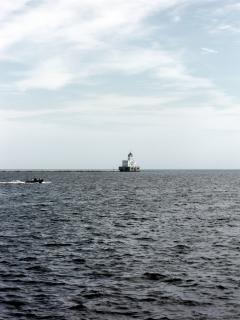 Harborfront milwaukee, phare