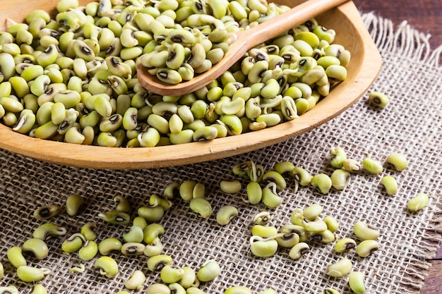 Haricot vert - nourriture typique du nord-est à l'huile de dende