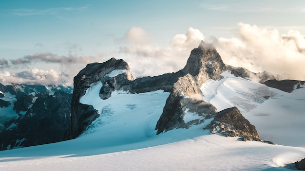 Haut du glacier