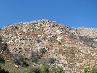 Haut de la sierra foothills