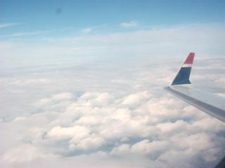 Haute altitude, l'avion
