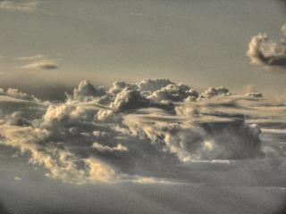 Haute altitude des nuages