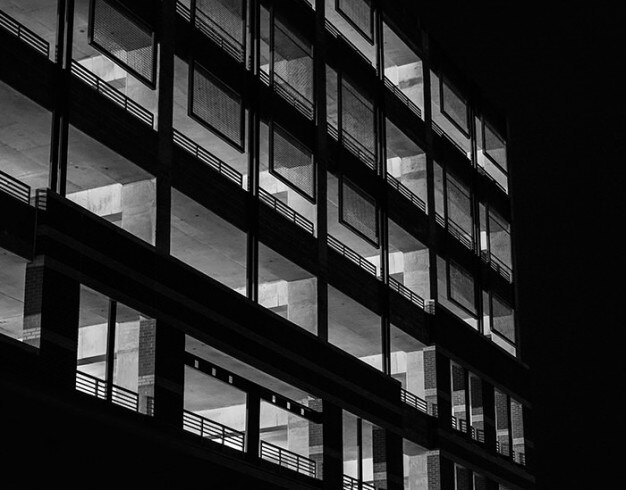 Haute façade contraste