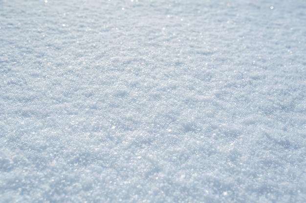 Haute surface détaillée de la neige de noël d'hiver