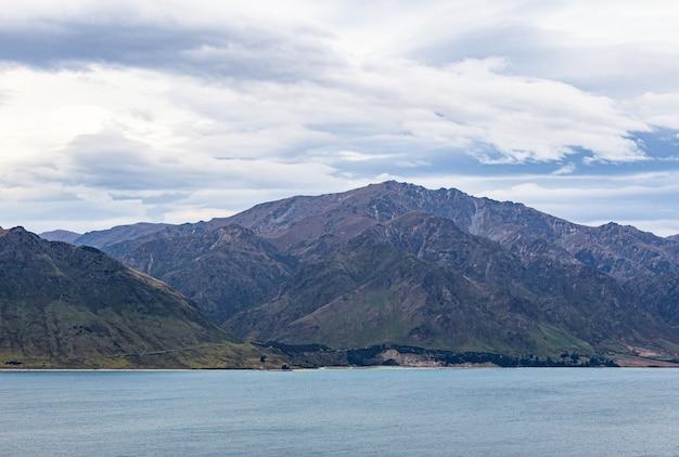 Hawea lake ile sud nouvelle zelande