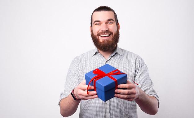 Hé c'est un cadeau pour toi, partage un cadeau avec tes amis