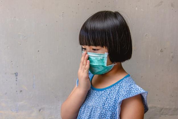 Health care - masque de protection pour enfants asiatiques