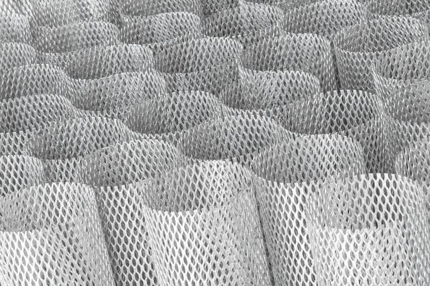 Heap mesh metal pour filtre en rouleau