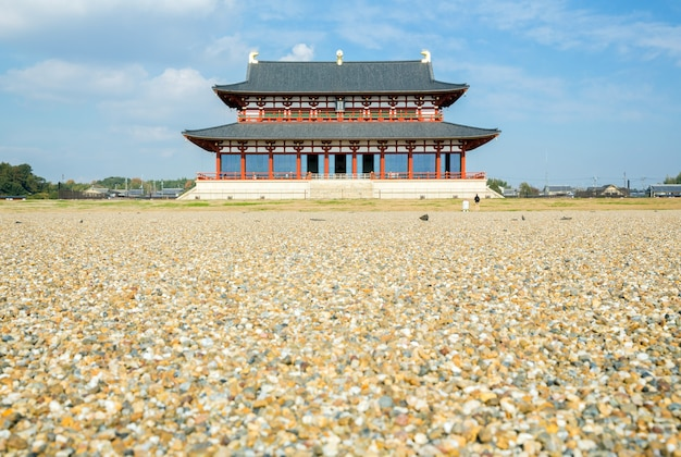 Heijo palace nara japon