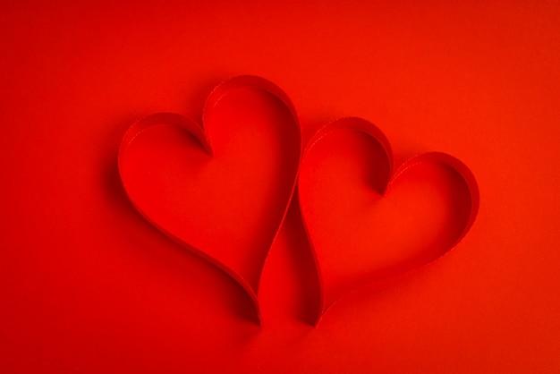 Hélice cadeau voeux rouge d'automne