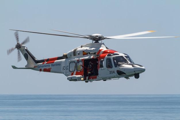 Hélicoptère agusta westland helimer