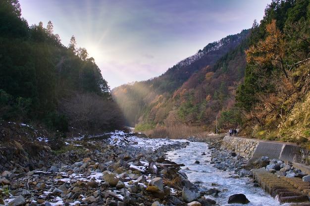 Hell valley, jigokudani, japon