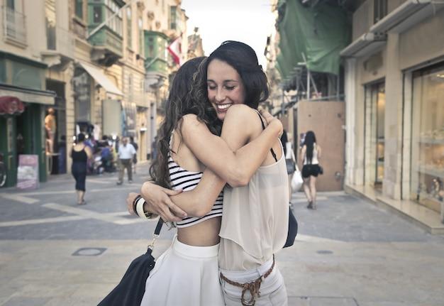 Heureuse amitié féminine