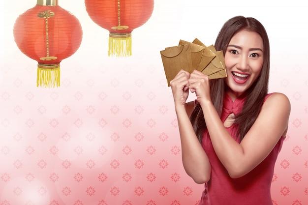Heureux concept de nouvel an chinois