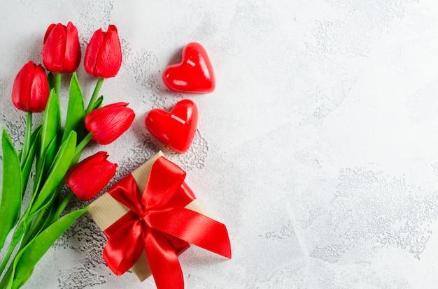Heureux fond de la saint-valentin. carte de voeux