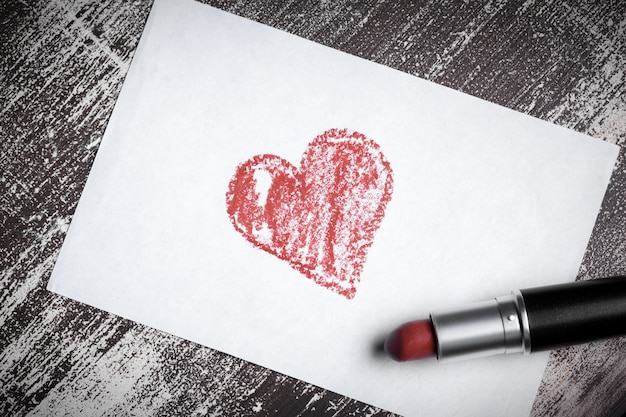Heureux fond de saint valentin