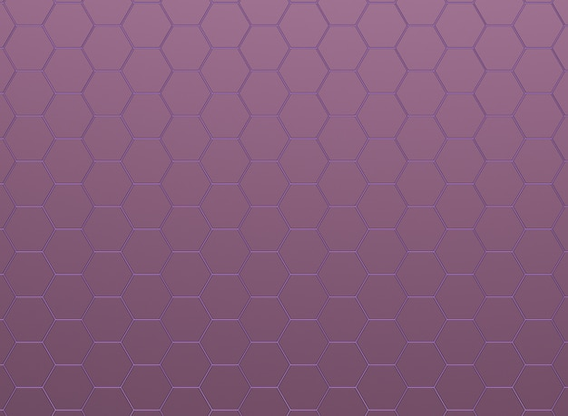 Hexagones roses métalliques, modèle sans couture.