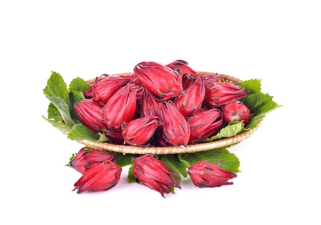 Hibiscus sabdariffa ou fruits oseille