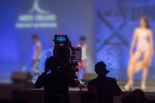 High video dslr production réseau social de caméras