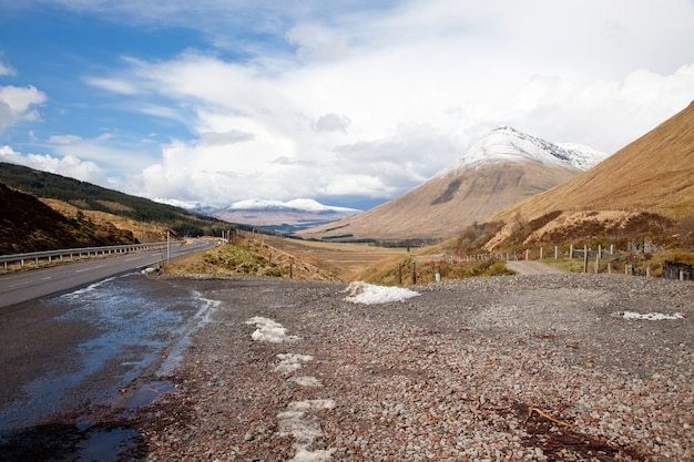 Highland ecosse campagne