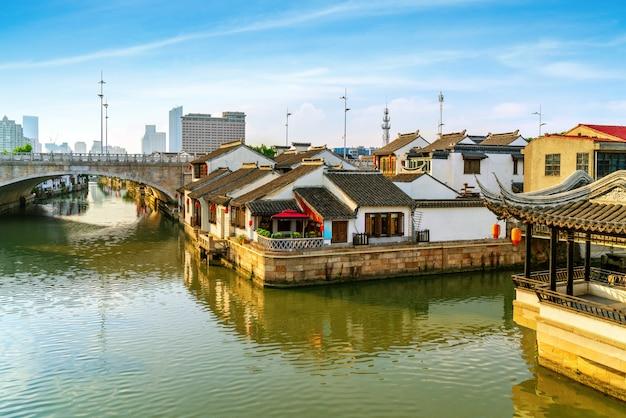 Historique pittoresque vieille ville wuzhen, chine