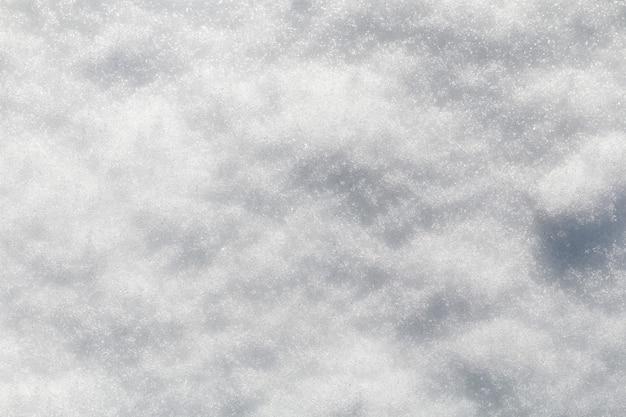 Hiver neige neige texture vue de dessus de la conception de la texture de la neige flocons de neige texture blanche neige