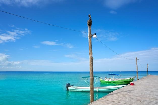 Holbox île tropicale à quintana roo au mexique