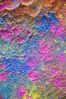 Holi couleurs mélange explosion