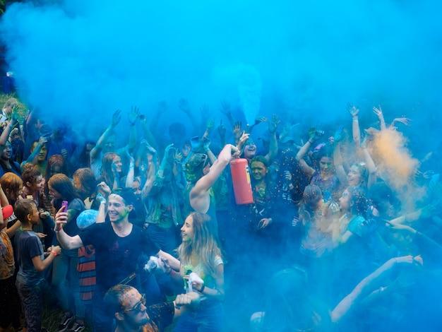 Holi festival des couleurs.