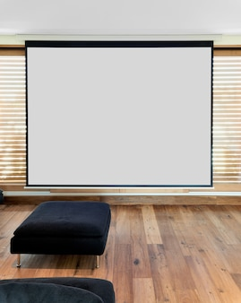 Home theater dans l'appartement