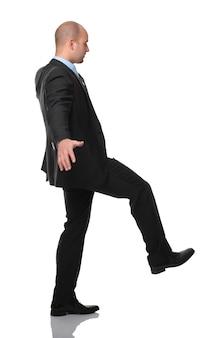 Homme d'affaires acrobat