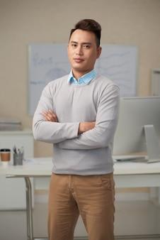 Homme d'affaires confiant