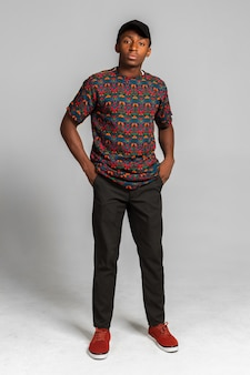 Homme afro américain