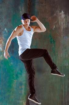 L'homme danse chorégraphie hip hop