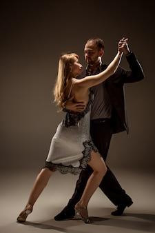Homme, femme, danse, argentin, tango