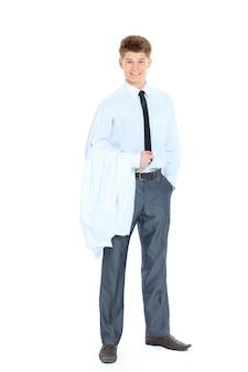 Homme jeune médecin avec stéthoscope