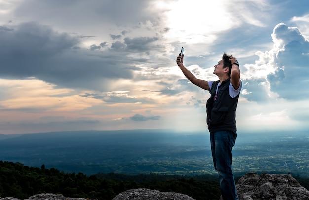 Les hommes asiatiques sont stressés par l'absence d'un signal de téléphone portable