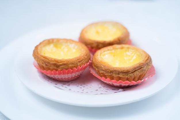Hong kong nourriture, tarte aux oeufs