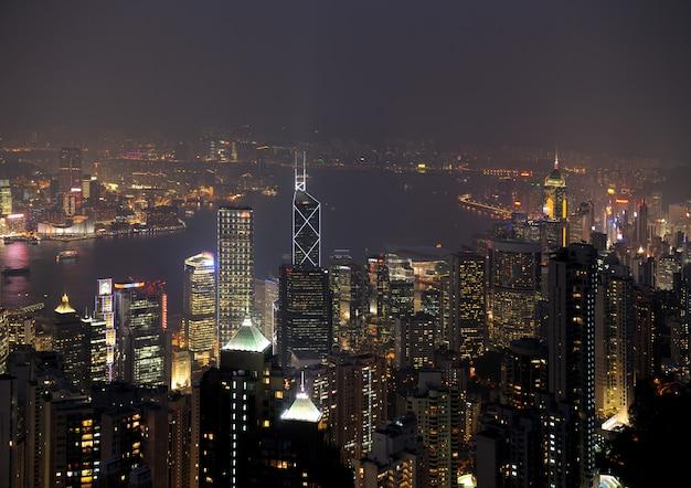 Hong kong de nuit