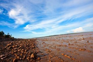 Hopewell ligne de plage