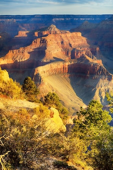 Hopi point, parc national du grand canyon