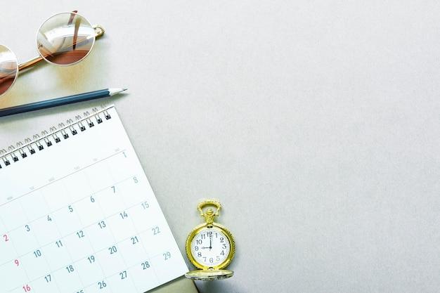 Horaire de travail et concept de planification