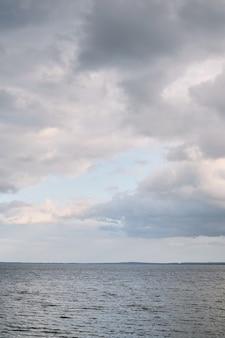 Horizon bleu mer bleu