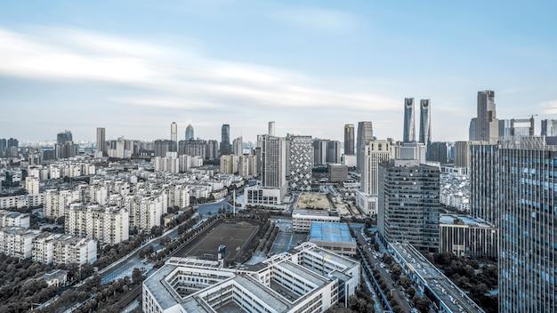 Horizon de la ville de la cdb, shenzhen