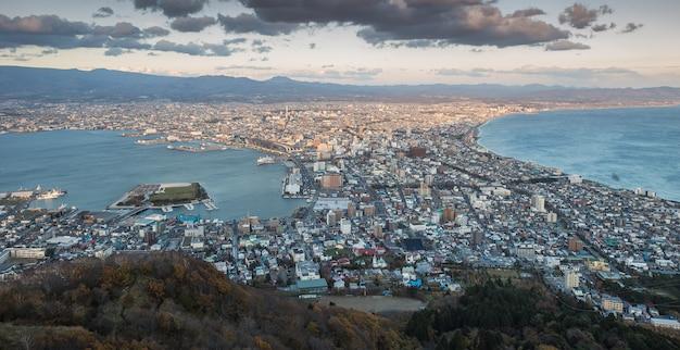 Horizon de la ville de hakodate