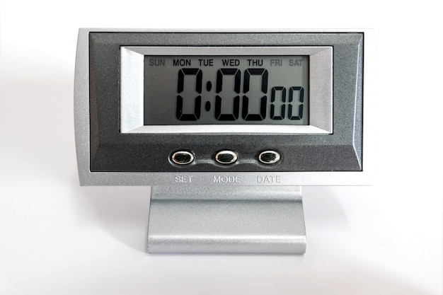 Horloge de bureau numérique et alarme pour le réveil