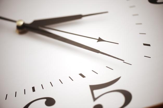 Horloge, closeup