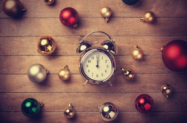 Horloge de noël